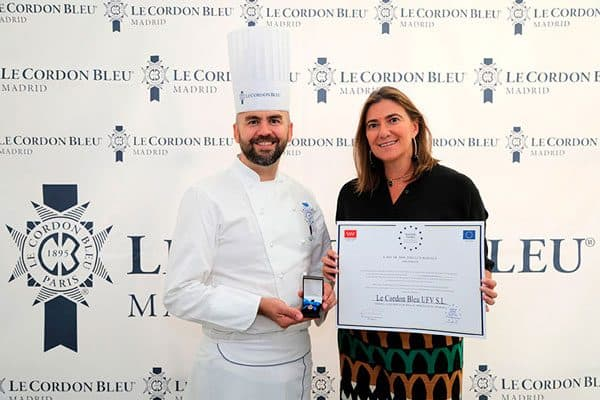 Le Cordon Bleu Madrid: награда European Gold Medal