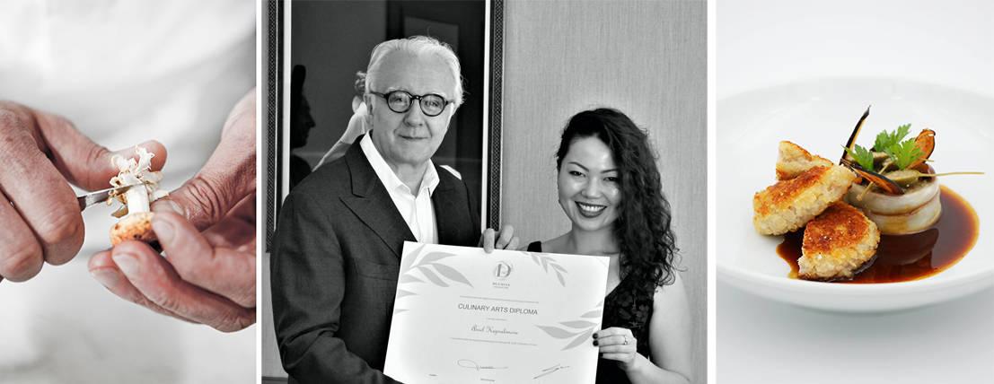 Ecole Ducasse: диплом по кулинарному искусству