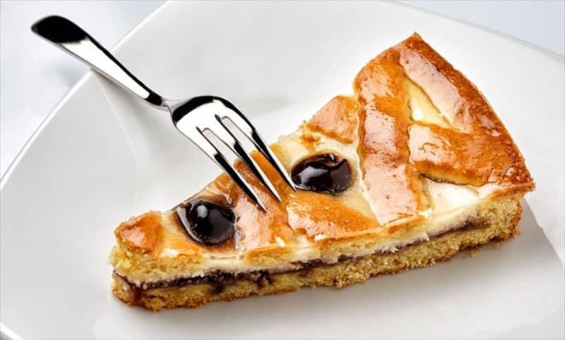 десерты Италии: Кростата рикотта э вишиоле